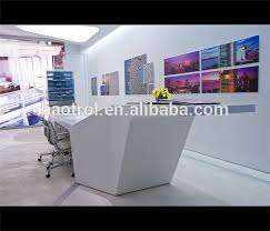 Oval Reception Desk High End Solid Surface Bank Reception Desk Reception Countertop