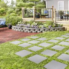 Rock Garden Wall Shop Pavers Retaining Walls At Lowes