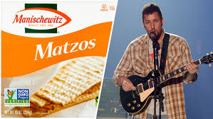 matzos for passover adam sandler offered matzos for to pen passover song nbc