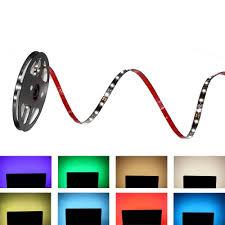 led strip lights for tv 6 6ft 2m hdtv bias lighting smd5050 rgb led strip multi color