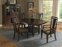 furniture elegant wooden dining table set by broyhill furniture