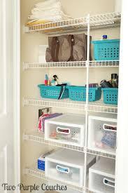 Storage Drawers Bathroom Wonderful Best 25 Bathroom Closet Organization Ideas On Pinterest
