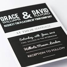 wedding invitations black and white simple black and white wedding invitations sunshinebizsolutions