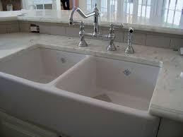 Double Kitchen Sink White Porcelain Kitchen Sink Home And Interior