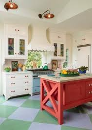Cottage Kitchen Decor by From Musty To Must See Kitchen Teal Kitchen Cabinets Beach