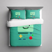 Octonauts Bed Set Adventure Time Beemo B Mo 3 Pieces Bedding Set Size