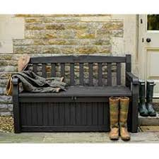 Garden Bench With Storage Storage Benches Sale Fast Delivery Greenfingers
