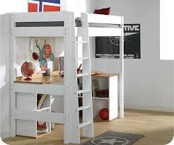 lit mezzanine noir avec bureau lit mezzanine blanc avec bureau lit mezzanine clay blanc avec