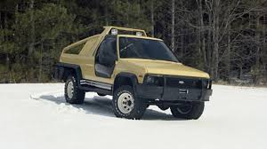 ford bronco concept 1981 ford bronco montana lobo concept leisure wheels