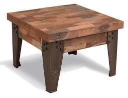 industrial square coffee table brooklyn industrial square coffee table