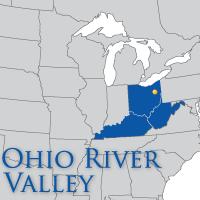 ohio river valley map mstartzman significance of the ohio valley 4