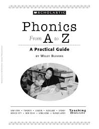 phonics from a to z by wiley blevins 1st edition by allison hall