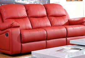Red Recliner Sofa Leather Sofa 3 Seat Leather Sofa Na2 3 Seater Sofa Covers Uk 3