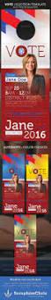 vote election door hanger template by seraphimchris graphicriver
