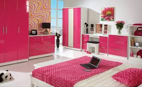 Study Table Design For Bedroom by Pink And White Bedrooms Creative Bookcase On The Wall Lovely Pink