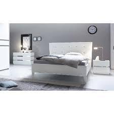 chambre moderne blanche chambre a coucher complète moderne blanche prix promo