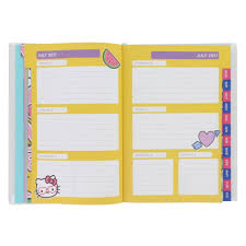 hello kitty detail mid year 2017 18 planner