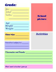 classmates books this is a free sle of four pages from my printable school