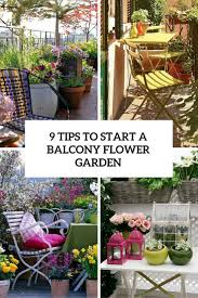 9 tips to start a balcony flower garden gardenoholic