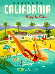 California travel posters images Les 147 meilleures images du tableau california travel posters and jpg