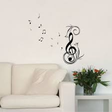 compare prices on music note wall stickers online shopping buy removable wall art decals dancing music notes vinyl wall stickers home decor many colors available