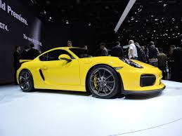 cayman porsche 2015 geneva 2015 porsche cayman gt4 debuts the truth about cars