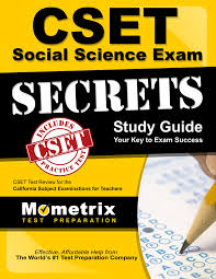 cset social science exam secrets study guide cset test review for