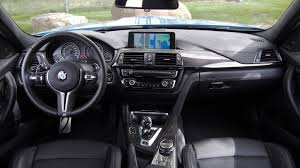 2016 bmw dashboard review 2015 bmw m3 sedan canadian auto review