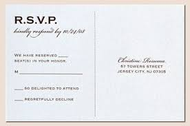 rsvp wedding invitation plumegiant