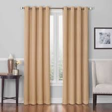 buy gold window curtain panels from bed bath u0026 beyond