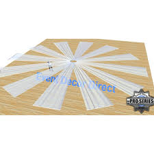 ceiling draping 21ft 12 panel sheer fabric ceiling draping in assorted