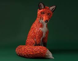 designboom hermes zim zou craft the fox s den with paper for hermes barcelona store