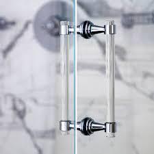 shower door gold handle design ideas