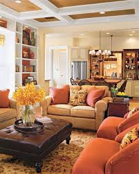 how to achieve a traditional style warm cozy living rooms and