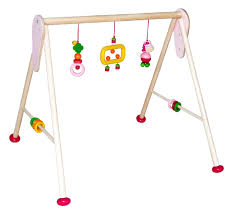 hess wooden baby activity baby gym horse toy amazon co uk baby