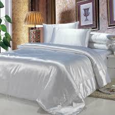 White Silk Bedding Sets Advantages Of Silk Bedding Sets
