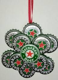 use your stash challenge bottle cap christmas ornaments