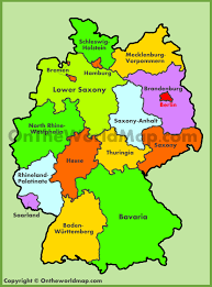 Map Of Switzerland And Germany by Germany Maps Maps Of Germany