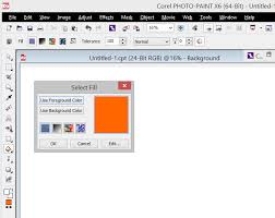 new fill tool dialog fill the old gap and improves greatly corel
