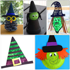 Halloween Crafts For Little Kids - witch crafts for kids u2013 more halloween fun witch craft