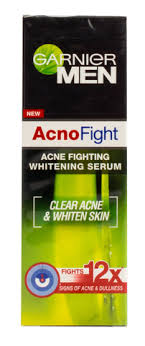 Garnier Acno Fight Whitening Serum garnier active acne clearing scrub transmart