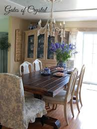 dining room sets michigan gates of crystal ticking and toile in the dining room
