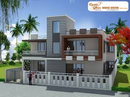 3 bedroom modern duplex 2 floor house design area 285 sq mts