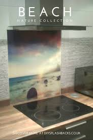 Kitchen Splashback Ideas Uk 55 Best Printed Kitchen Glass Splashbacks Images On Pinterest