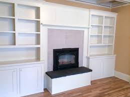 fireplace built in cabinets a wall of built ins around fireplace custom woodwork
