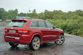 red jeep commander driven jeep grand cherokee team bhp
