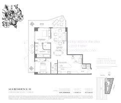 Echo Brickell Floor Plans Sls Brickell Residences