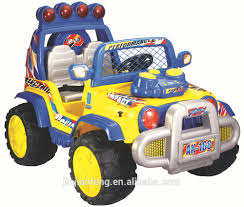jeep toy car plastic material toy jeep for kids to drive battery operated ride