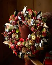mackenzie childs small gala wreath