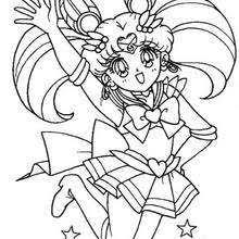 sailor moon sailor chibi moon coloring pages hellokids